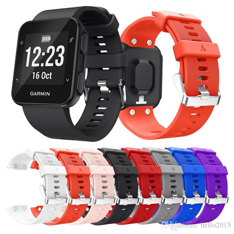 Smart Smart Forerunner Ersatz Armbandarmband Garmin Silikon 35 Vorrater-Band für Garmin 35 Strap für Watch-Armband-Zubehör-Zubehör-Owhs