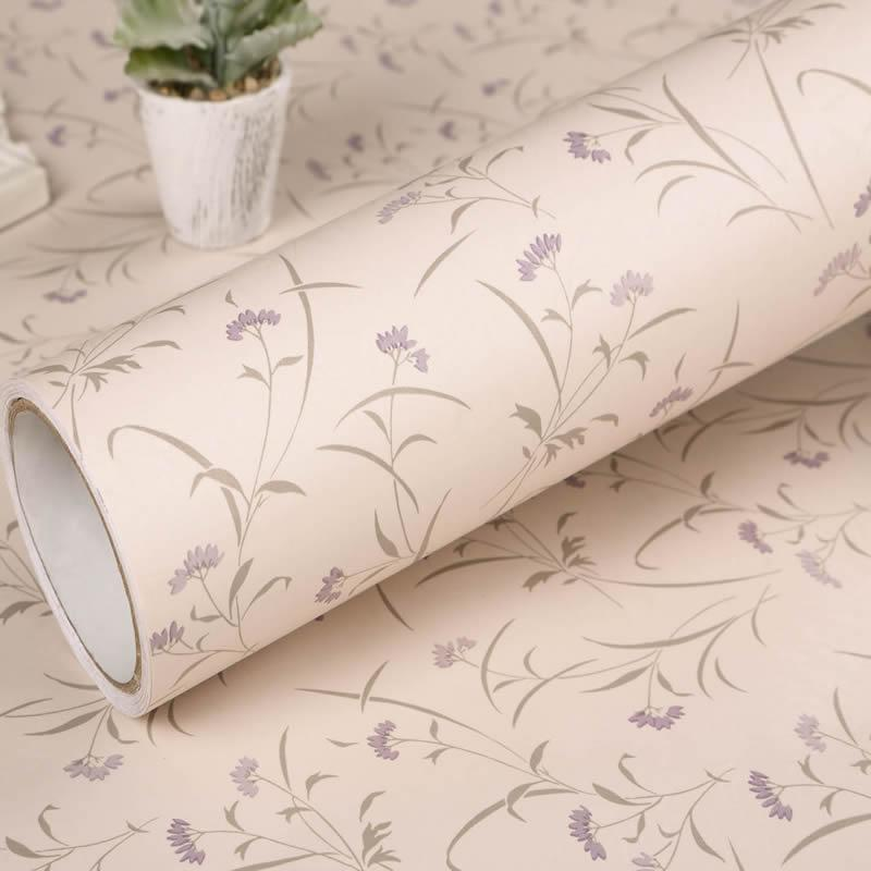 Pvc Vinyl Self Adhesive Waterproof Wallpapers Pattern Decorative
