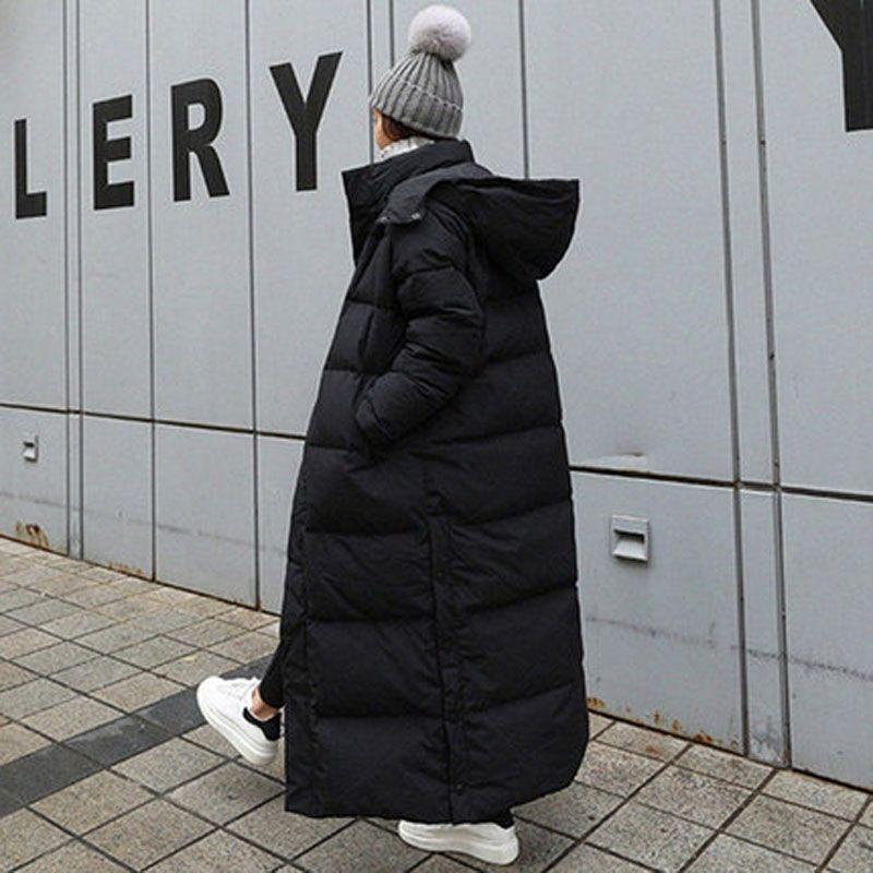 Parka Coat Extra Maxi Long Hiver Jacket Veste Femmes à capuche Big Plus Taille Taille Femme Lady Lady Breakbatcher Outwear Vêtements Quilté 30