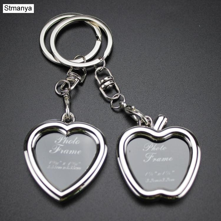 Photo Frame Lovers Key Chain - Мода Новая любовь брелок Хороший ключ качества кольцо для мужчин и женщин Подарочные изделия #