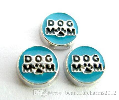 (20, 50) шт. / Лот собака мама плавающей медальон подвески подходят для магнитного стекла памяти медальон изготовление ювелирных изделий