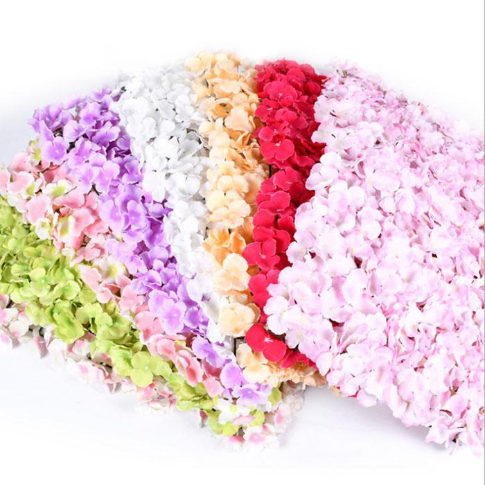 Simülasyon Ipek Ortanca Yeni Net Kırmızı Ünlü Duvar Sentetik Çiçek Duvar Düğün Fotoğraf Stüdyosu Çiçek Topu Düğün Alışveriş Merkezi Dekorasyon