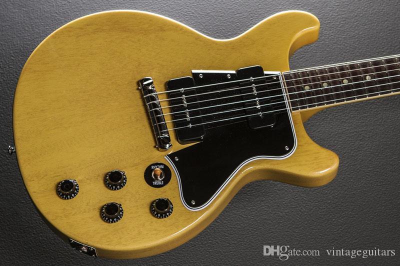 качество электрической гитары на заказ двойной срезанные путь гитары