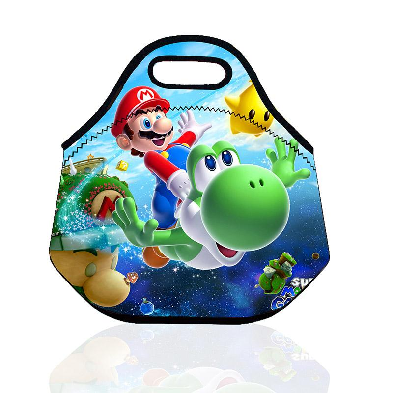 Cooler Bag 100% Neoprene Waterproof Insulated Thermal Cooler Bag Lunch Box Tote for Women Kids Lunch Bag bolso termico SH190923