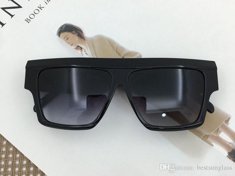 Acetat Lady Sonnenbrille quadratische Form hohe Qualität 40030 Modell Damenmode-ursprünglicher Entwurf