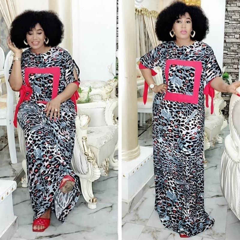 Afrikanische Kleider für Frauen 2020 Dashiki Sommer-Herbst-Plus Size Kleid Damen traditionelle afrikanische Kleidung Fee Träume Robe