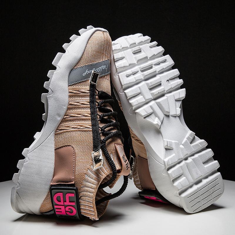 New respirante Chaussettes Chaussures Homme Chaussures de course léger en plein air Chaussures de marche Sport Athlétique Hommes Jogging Bottes Drop Shipping