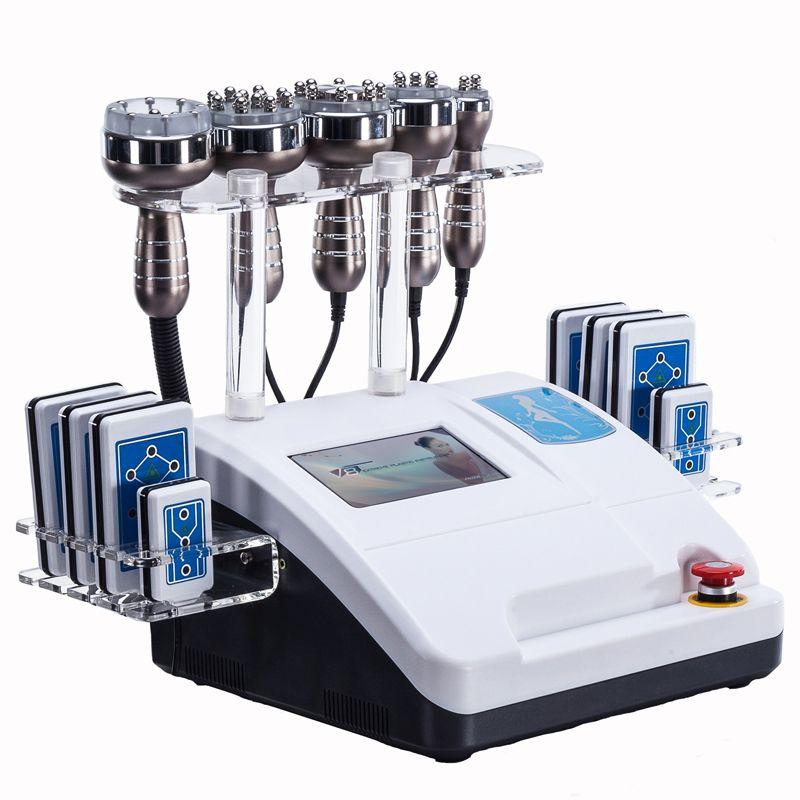 초음파 cavitation 주파수 lipo 슬리밍 기계 진공 RF 피부 미용 장비를 강화