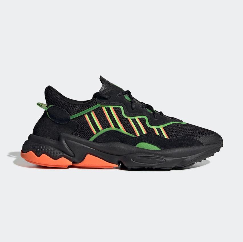 2020 Pride 3M reflectante Xeno Ozweego Para Hombres Mujeres Zapatos Casual verde de neón solares amarillo de Halloween Tonos núcleo negro entrenador deportivo zapatillas de deporte