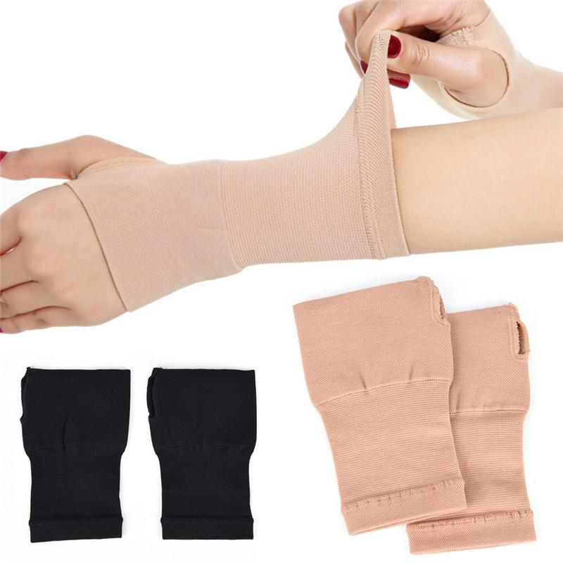 New Arrival Carpal Tunnel Thumb Hand Wrist Brace Support Compression Bandage Black/Nude 3 Sizes