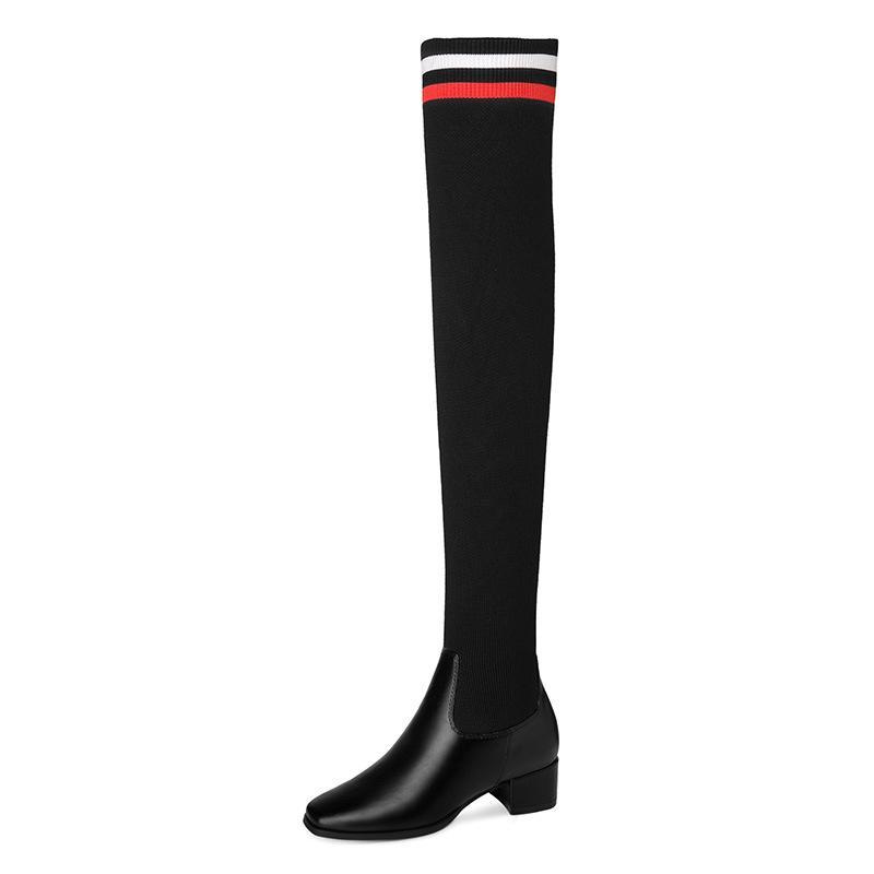 Горячие Продаем новые осенние и зимние сапоги обувь Мартин сапоги женщин законсервированных Сплошные цвета европейский и американский стиль обувь-Style Single Boots