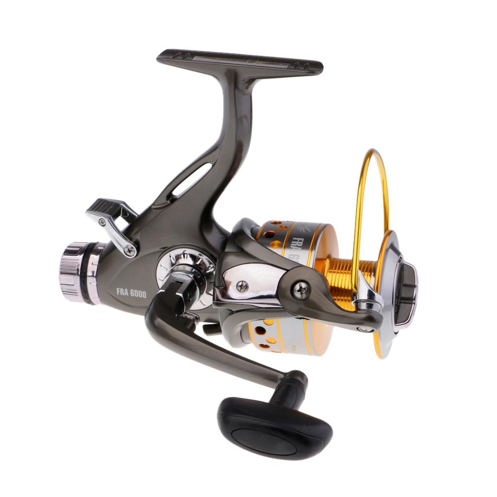 Spinning Reel Front and Rear Drag Surf Fishing Reel 9+1 BB Saltwater Reels with Spare Spool