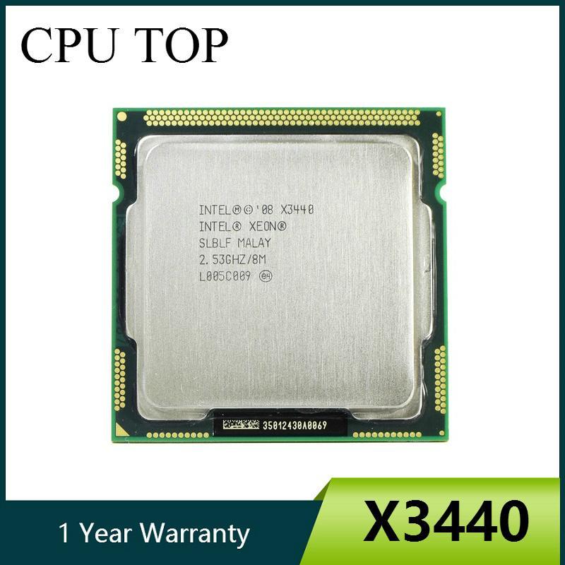 الكمبيوتر Offce ntel زيون X3440 رباعي النواة 2.53GHz LGA 1156 8M ذاكرة التخزين المؤقت 95W سطح المكتب CPU I5 650 i5 و 750 i5 و 760