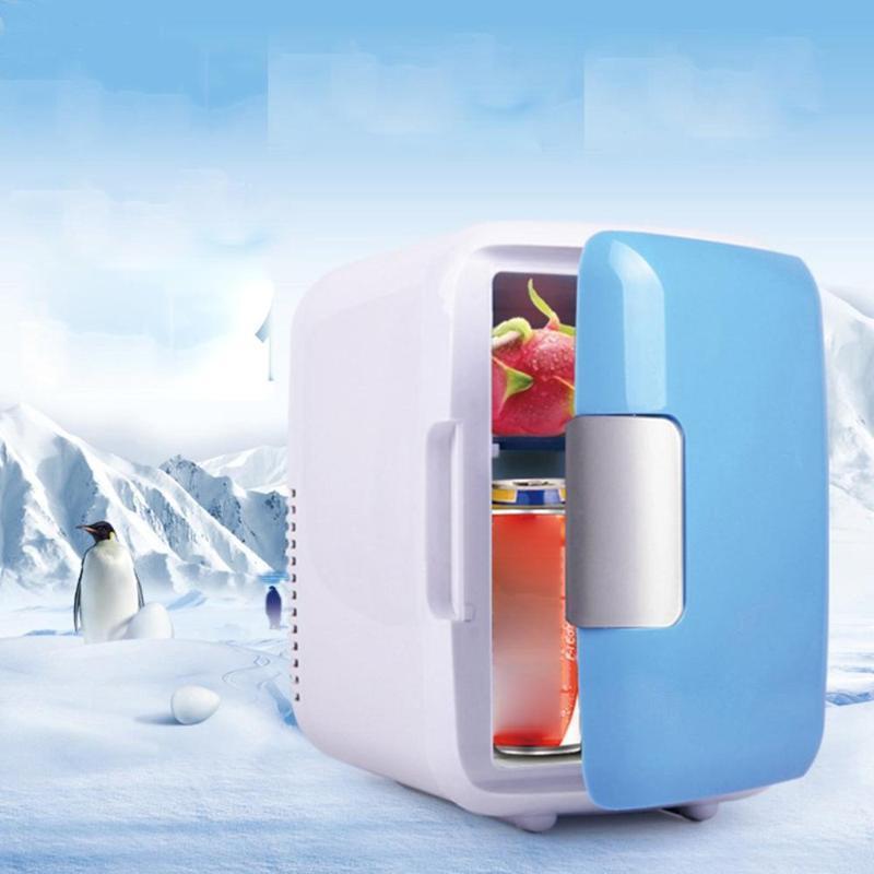 2020 에너지 절약 및 친환경 실제 자동차 휴대용 미니 음료 쿨러 자동차 여행 화장품 냉장고 뜨거운 판매