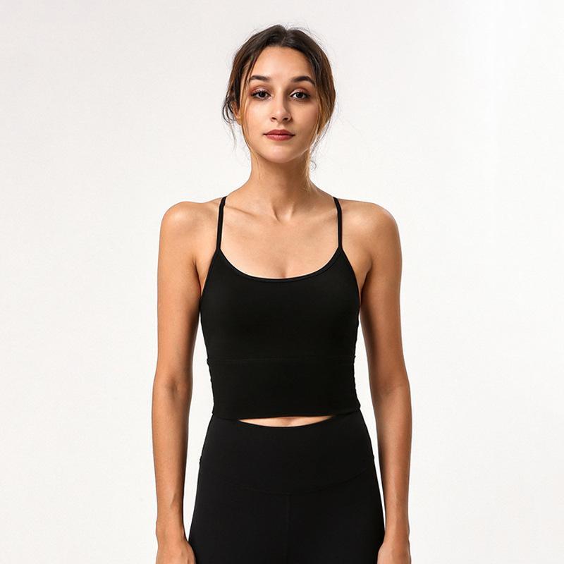 Underwear Sports Yoga Bra Push-up -Resistente alta resistência da aptidão que funciona Training Original fábrica de tecidos Mulheres / 30