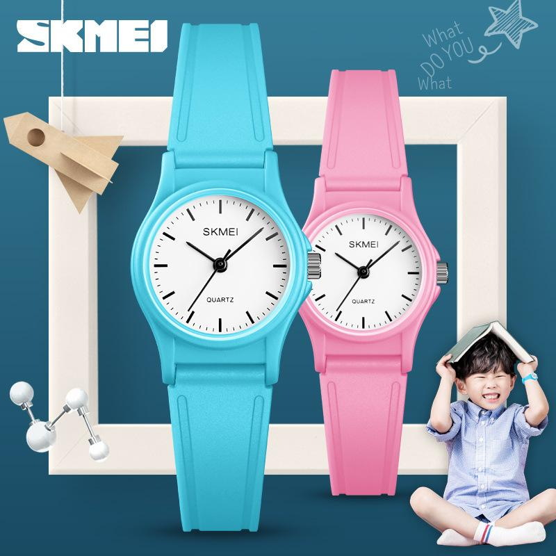 Wholesale, simple, small waterproof children's wristwatch Christmas popular style pupil gift watch