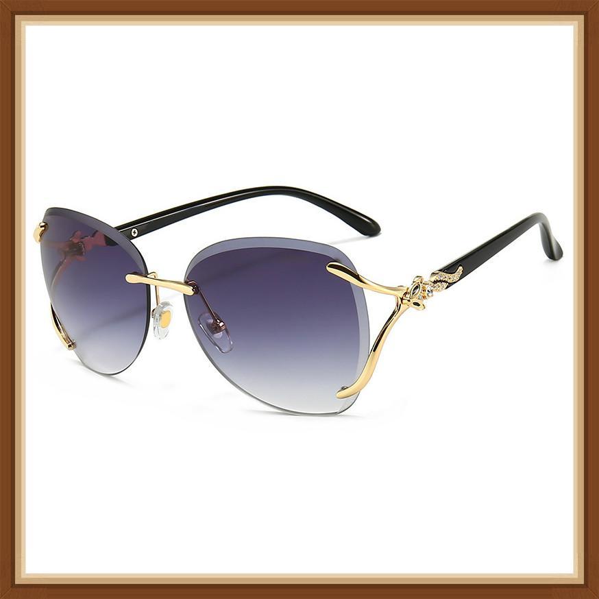 Женская мода личности лисица головы океана кусок солнцезащитные очки открытый конвертируемый автомобиль UV400 леди солнцезащитные очки бренда дизайнерские солнцезащитные очки
