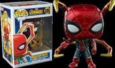 Guerra LXH Hierro Spider Man Avengers # 300 Infinity Funko Pop Marvel Comics Vinilo Figura regalo de cumpleaños de niño