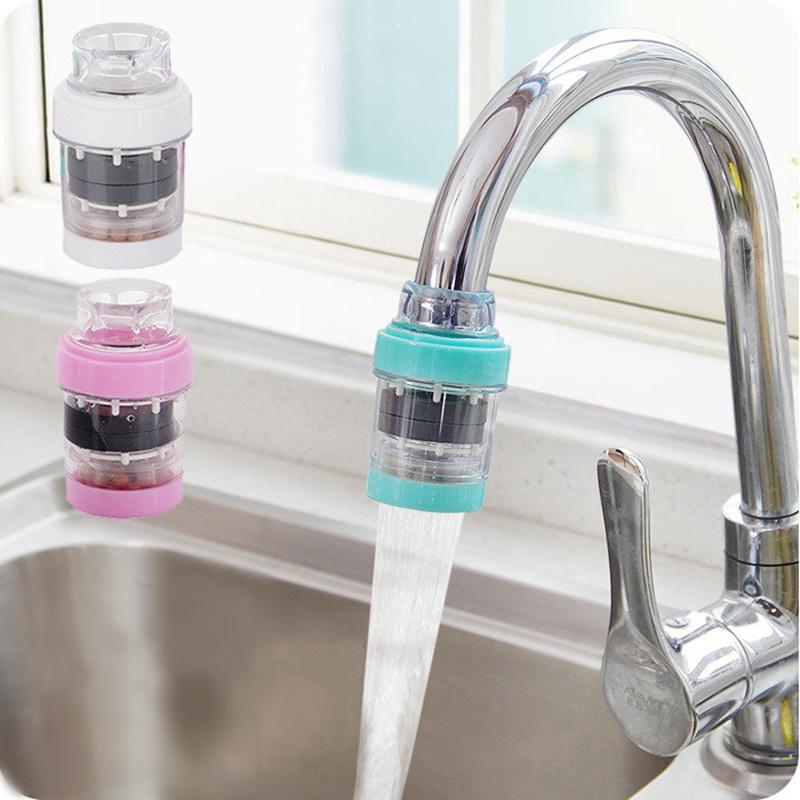 Yeni Mutfak Musluk Filtre Taş Taş Su Arıtma Musluk Suyu Filtre Banyo Mutfak Aksesuarları Tesisleri