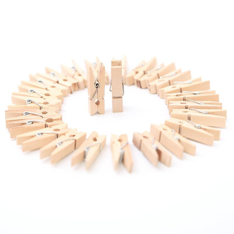 10pcs Natal Wooden Clamp Christmas Tree Decorations Ornaments Noel New Year Gifts Clips for DIY Crafts Party Decoration Photo