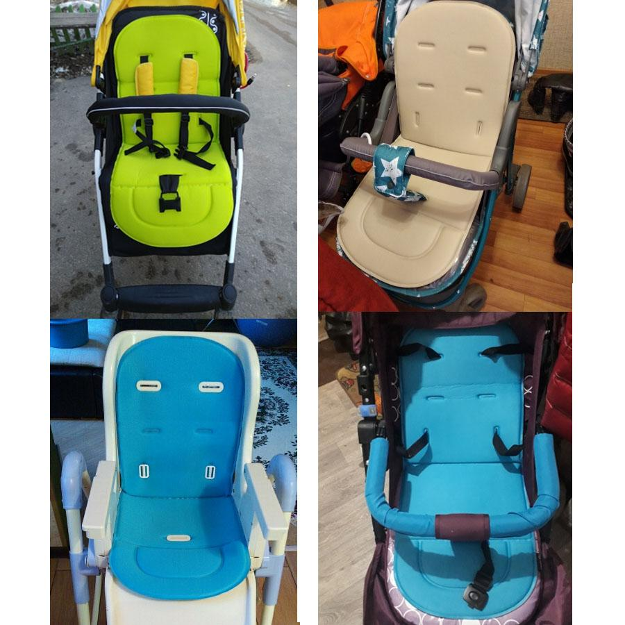 Baby Stroller Seat Cushion Mattress Kid Pushchair Car Cart Chair Trolley Mat Pad