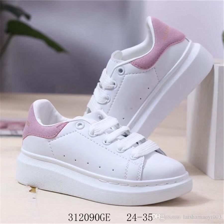 2020 bambini infantili Scarpe da corsa gomma scamosciata giovanile Junior formatori grande piccola ragazza del ragazzo scarpe da ginnastica per bambini