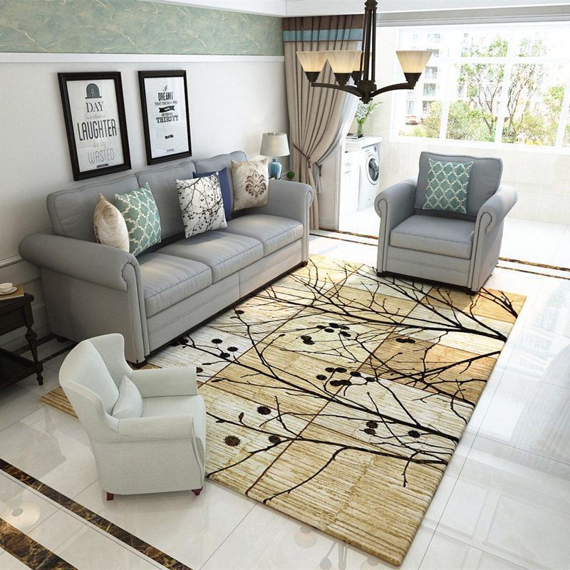 La casa Retro stile nordico tappeti per Soggiorno casa da letto Tappeti e moquette 120x160cm Tavolino Breve Area Rug Kids Play Mat
