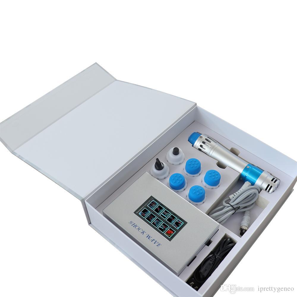Mini utilisation à domicile Shockwave Therapy Body Machine Shock Wave Soulagement de la douleur musculaire Relax Santé dispositifs médicaux En vente