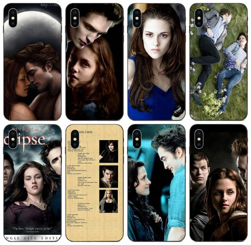 [TongTrade] Twilight Saga Painted Case For iPhone 12 11 Pro Max X XS XR 8 7 6s Plus Case Galaxy S6 S7 Edge Huawei Y9 LG G5 G6 Q60 Drop Proof