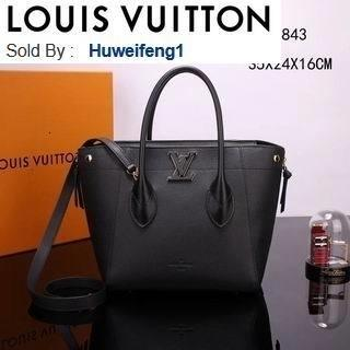 huweifeng1 opp Freedom Tote M54843 Black HANDBAGS SHOULDER MESSENGER BAGS TOTES ICONIC CROSS BODY BAGS TOP HANDLES CLUTCHES EVENING