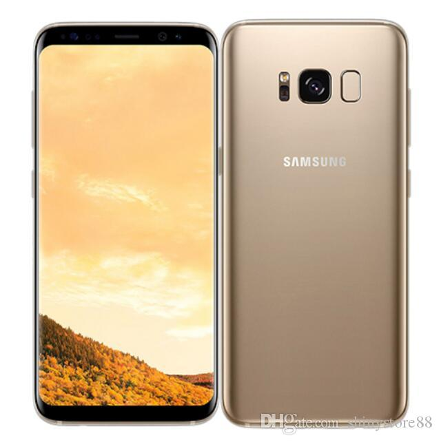"Used Original Samsung Galaxy S8 G950U Unlocked Cell Phone 4GB/64GB 5.8"" 12.0MP Single Sim 4G Lte"