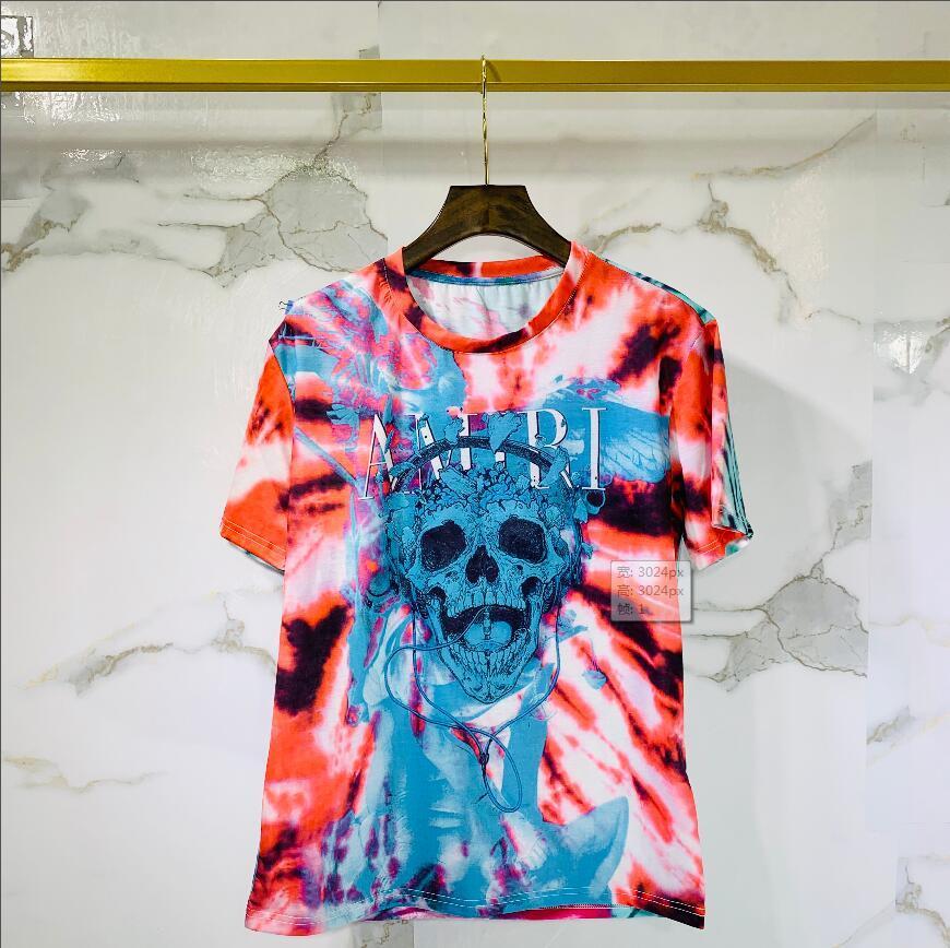 2020 de algodón de alta calidad nueva O-cuello de la manga corta de la camiseta de la marca camisetas de los hombres de estilo casual para los hombres camisetas del deporte del envío. ° 22