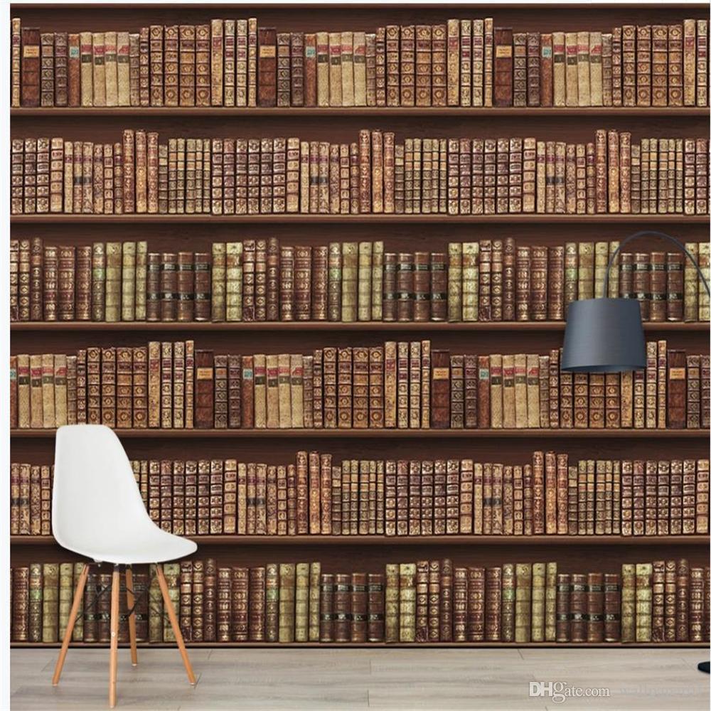 обои для стен 3 d для гостиной ретро европейская книга обои фон стены