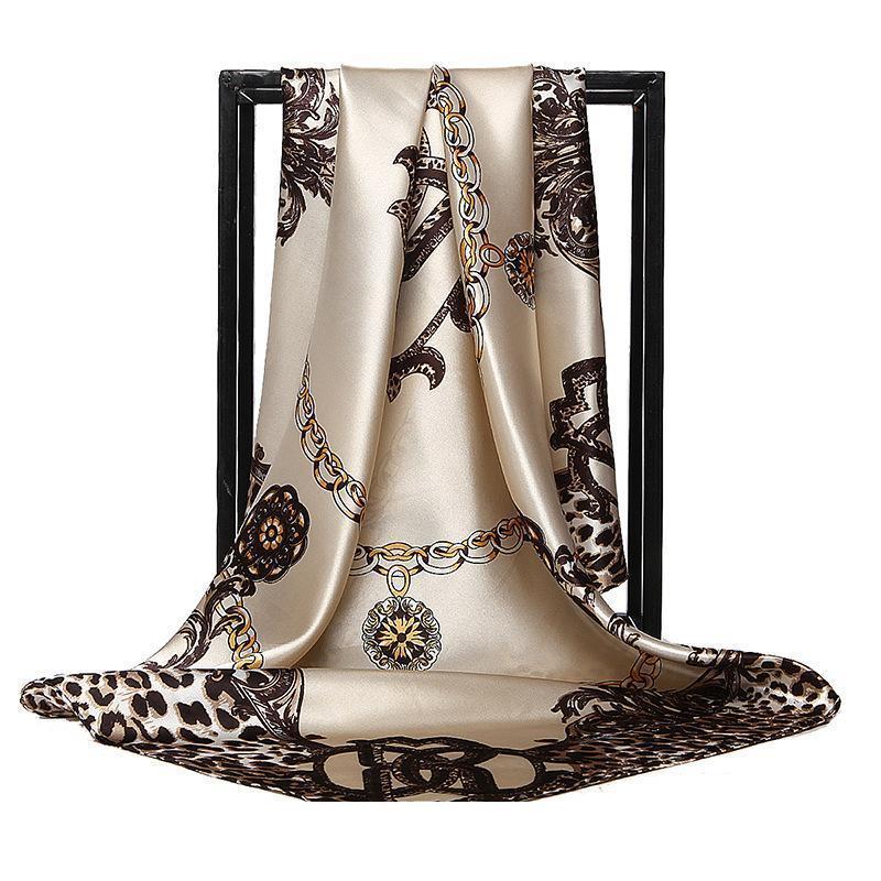 Designer di alta qualità 100% di seta del marchio famoso Print Designer modello quadrato sciarpa Womens sciarpa per il regalo Dimensioni 90x9