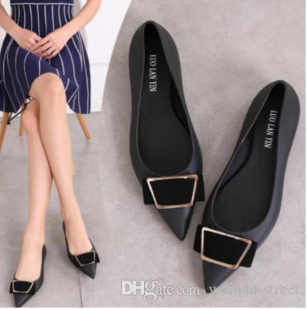 Женские летние пластиковые сандалии плоские остроконечные туфли из желе женские пляжные туфли с мягким дном Леди нескользящая обувь из ПВХ Graden