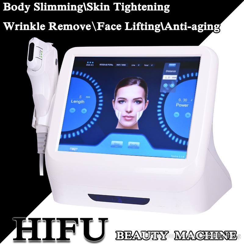 새로운 스타일의 HIFU 바디 슬리밍 카트리지 얼굴 긴축 HIFU 슬리밍 기계 초음파 치료 안티 에이징 가정에서 사용
