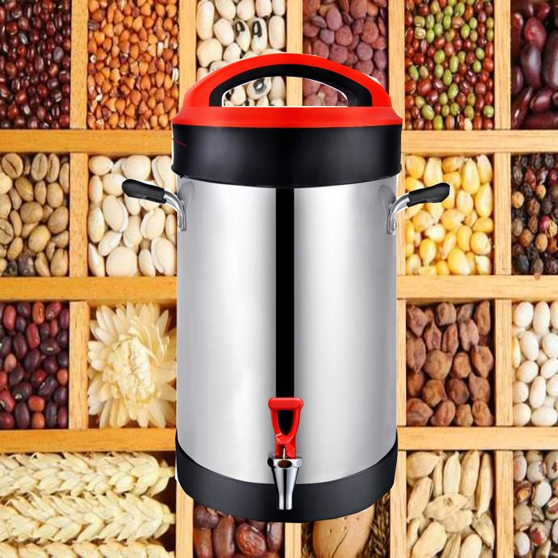 2500W electric soy milk machine for breakfast restaurant canteen hotel red big ml commercial soy milk machine
