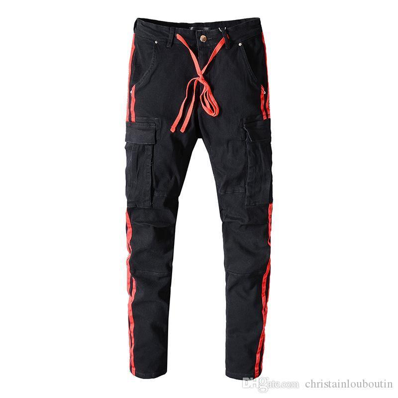 Брюки спортивные Мири тощие бегуны камуфляж мужчины новая мода шаровары длинные однотонные брюки Мужские брюки