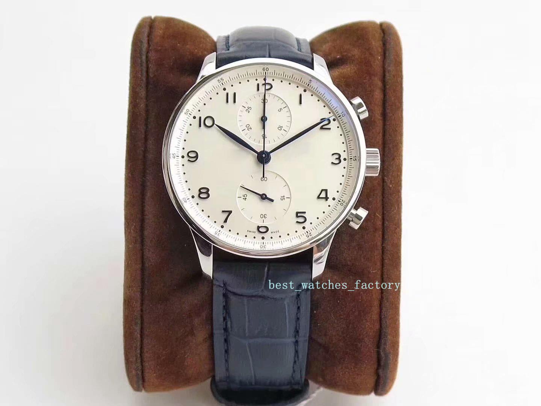 orologio 2020 ZF Super portoghese Meter bianco genuino movimento linea Terminator meccanico automatico degli uomini