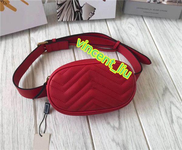 Талия с сумкой женщин настоящая кожа с талией сумка пояса ремень пыли пакета высокого регулируемого качества RXLWP