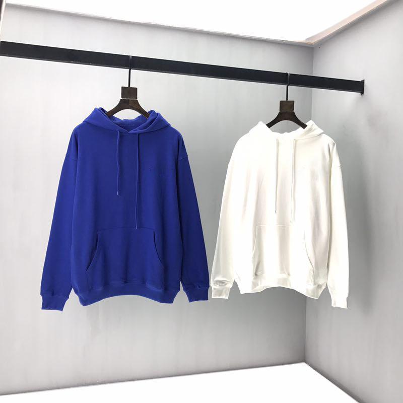 Zeitiges Frühjahr 2020 neue Farbe Blockbuchstaben-Logo Kurzarm T-Shirt Doppelstrang feiner Baumwollstoff schwarz und weiß OL9