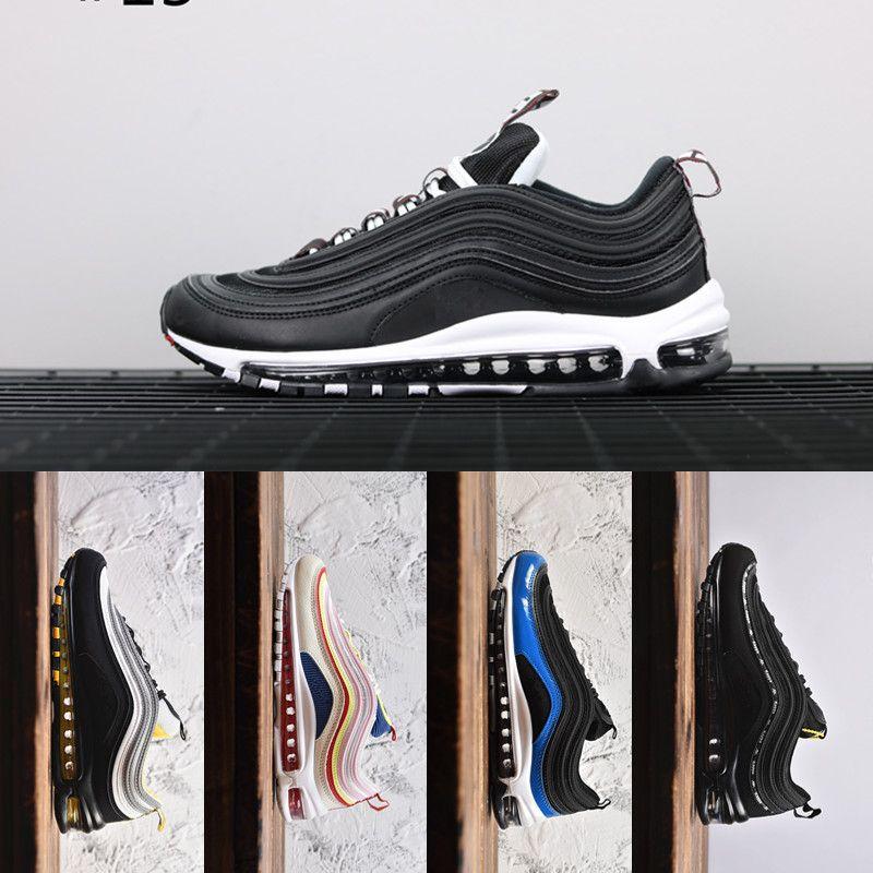 Schillernde layser Weiß Neon Seoul 97OG Laufschuhe für Männer Guava Eis kaum Rose Michigan Parra Triple Black Weiß Schuhe Sneaker