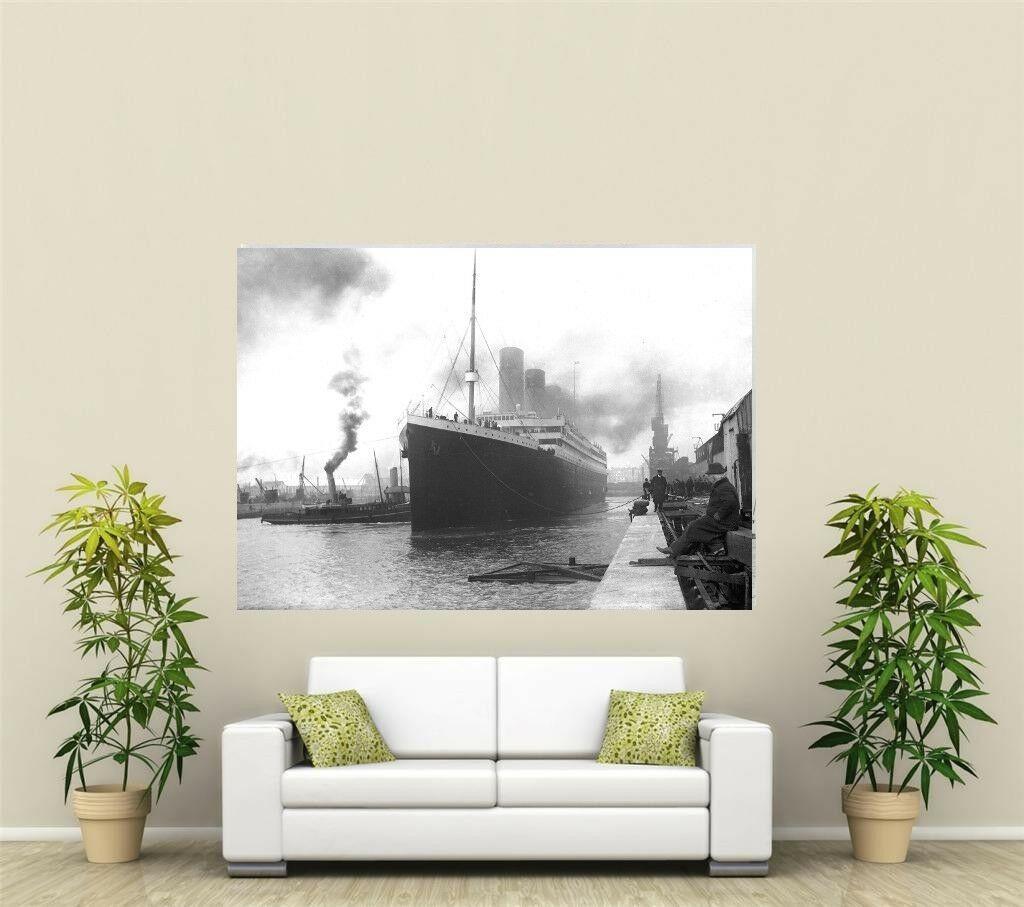 El Titanic Última Eva gigante 1 pieza de arte pintura de pared Decoración pintado a mano de la impresión de HD pintura al óleo sobre lienzo arte de la pared de la lona representa 200204