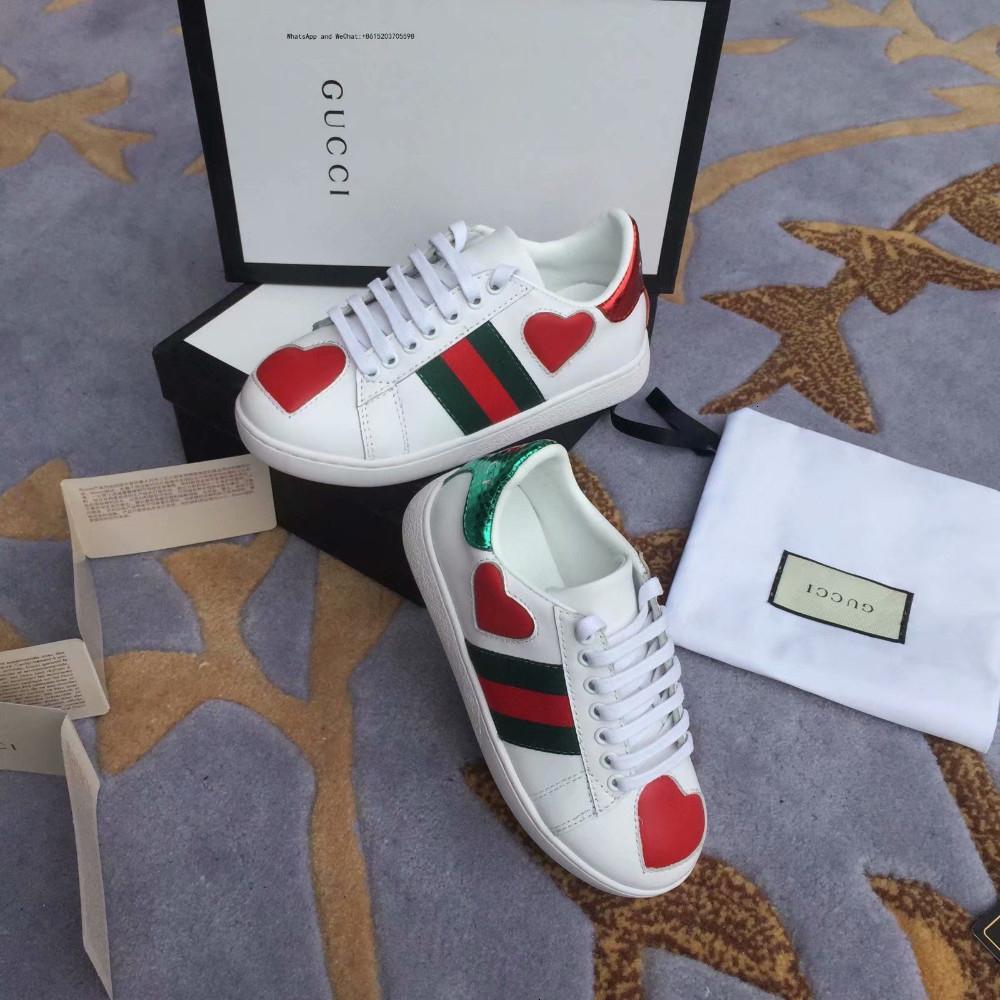 Designer Kids Luxury Shoes Autumn Europe Toile Version coréenne Loisirs Mode Soft Sole Enfants Chaussures