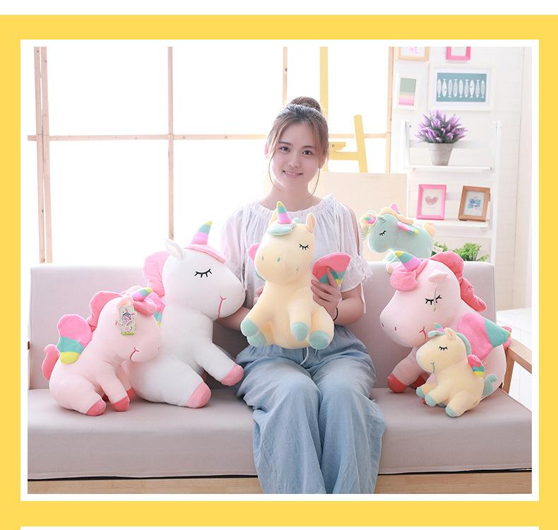 Creativos juguetes de peluche ins sueño unicornio pequeños regalos muñeca de juguete los niños de amigos novia 23cm K245