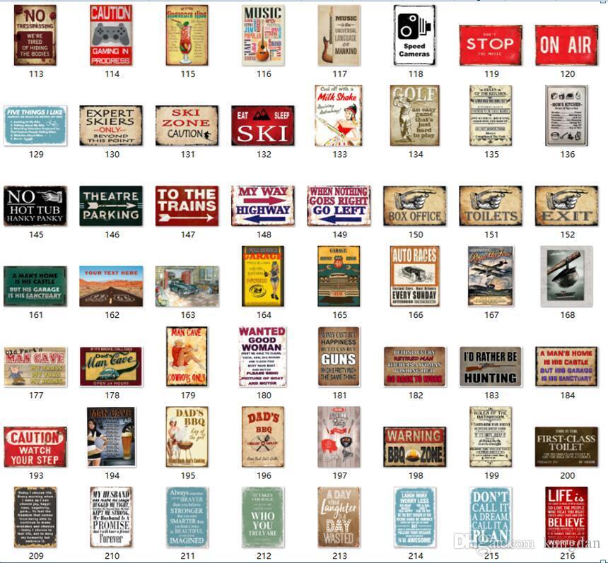 Regole della toilette Signore Signori Retro Vintage Metal Tin sign poster per pub warning shabby chic wall sticker Cafe Bar home decor
