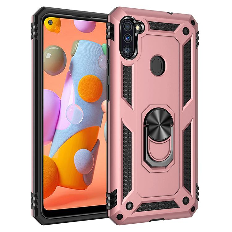 Caso nave de teléfono gratuito para Samsung A11 gel TPU caso claro de la contraportada para Samsung S8