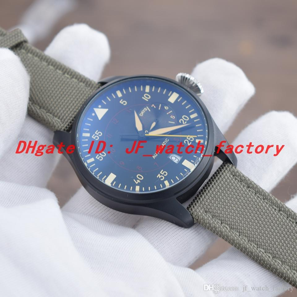 Sınırlı erkekler İzle Kinetik enerji ekran Otomatik hareketi PVD paslanmaz çelik kasa Siyah dial Örgülü deri kayış Pin toka Kol Saati