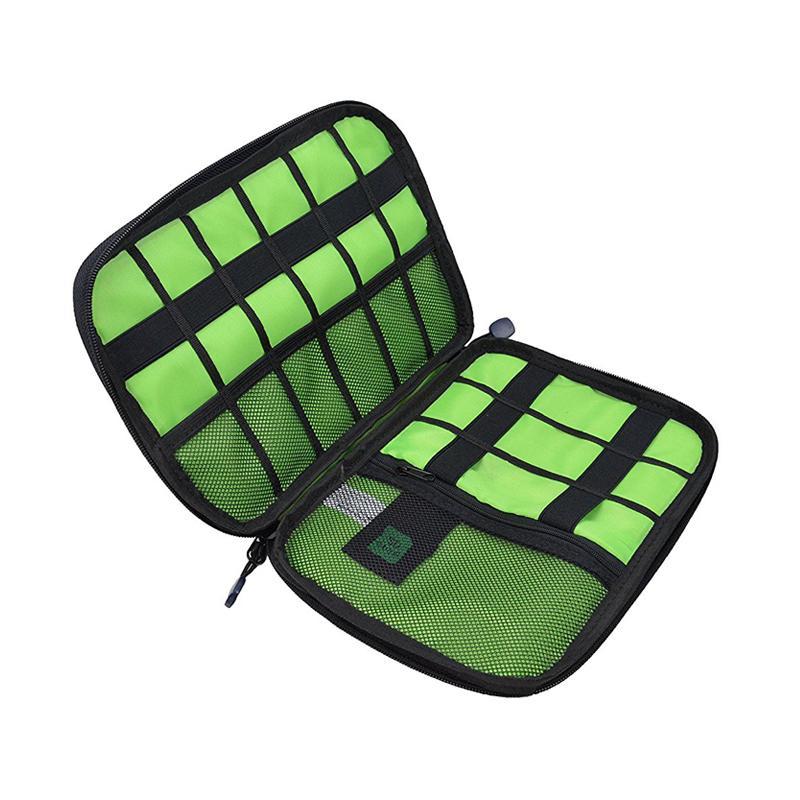 Большой Ударопрочный USB-кабель для наушников сумка для хранения Flash Drive Организатор цифровой гаджет держатель для путешествий Мобильный телефон зарядное устройство