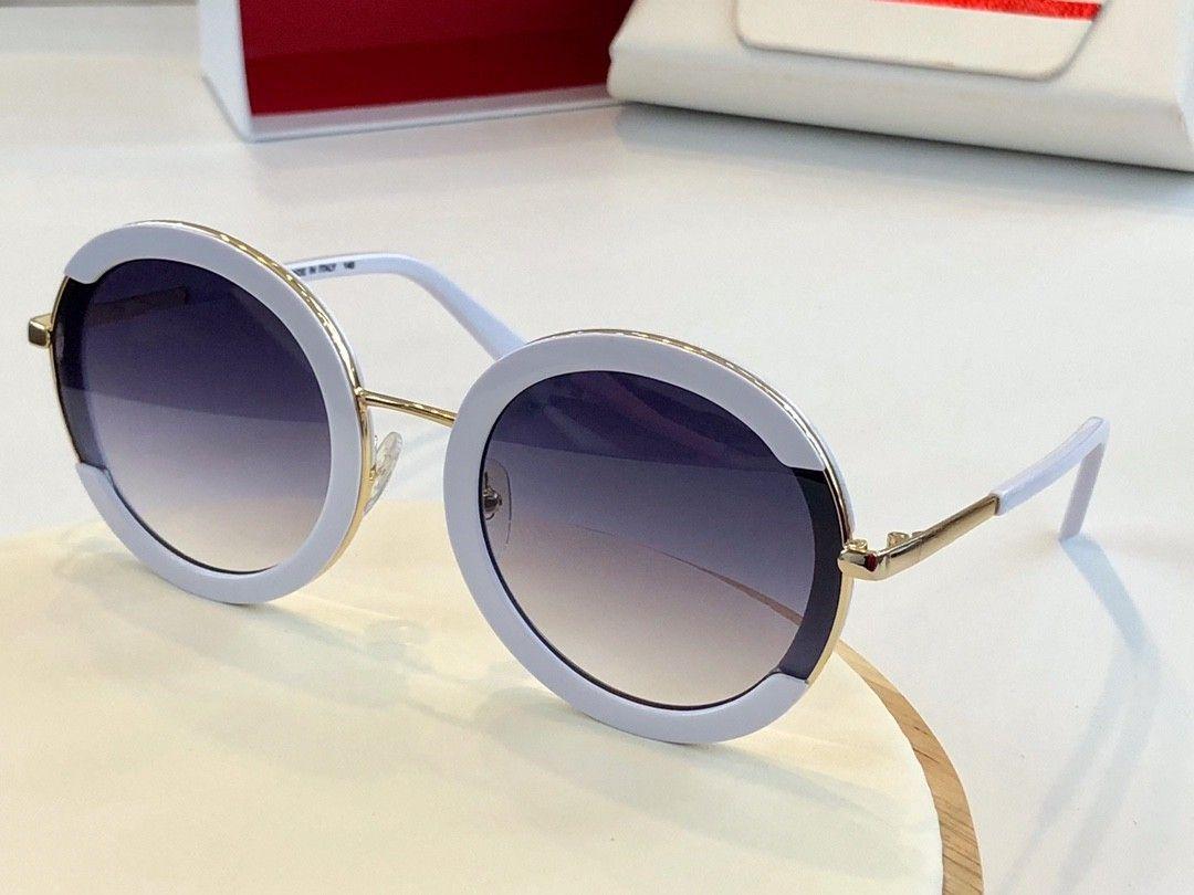 Le nuove donne di modo degli occhiali da sole 164 uomini sunglasses semplice e uomini generosi vetri di sole all'aperto occhiali di protezione UV400 con il caso